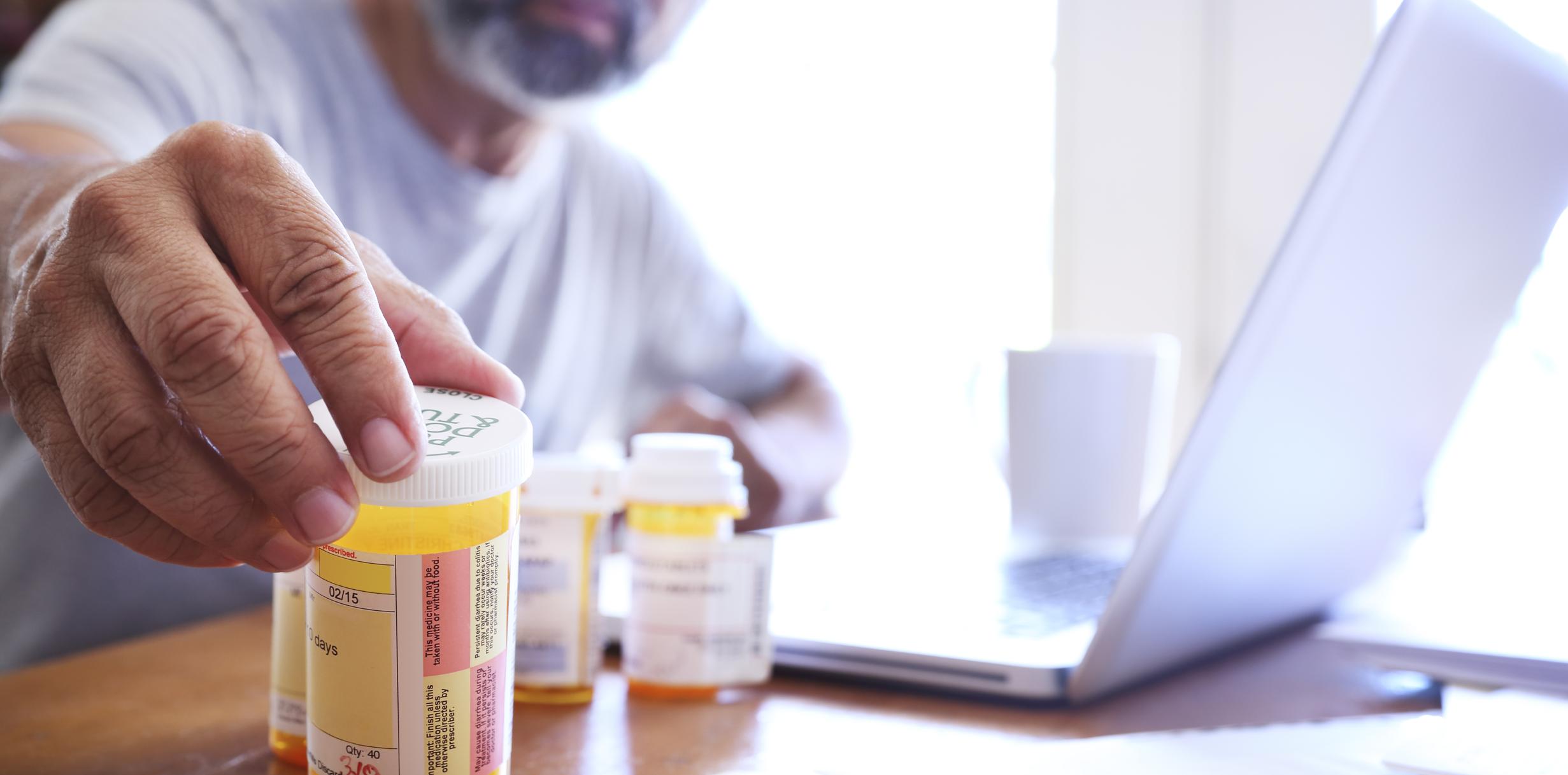 Checking Pharmaceutical Pill Bottles