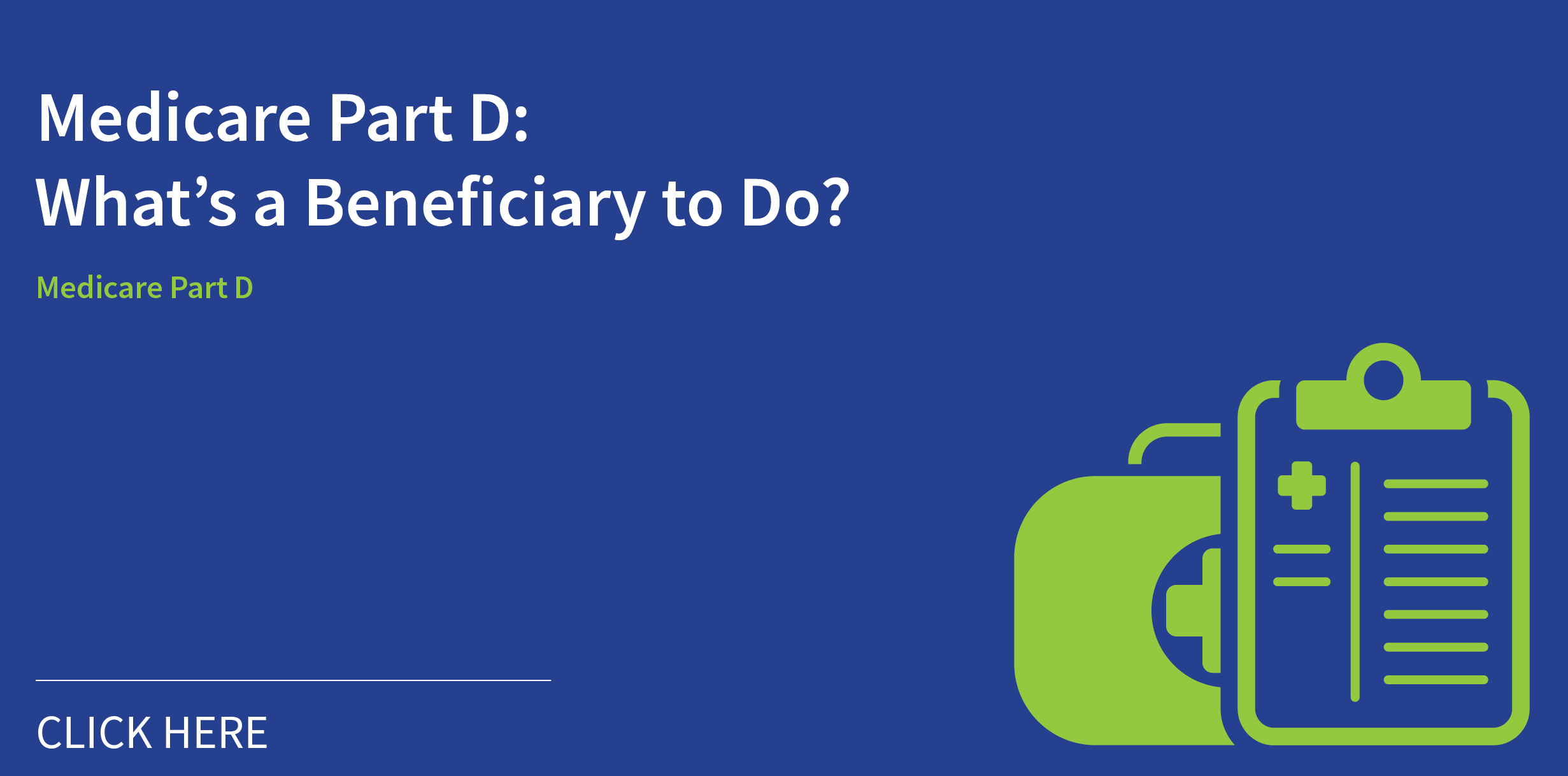 Medicare Part D Beneficiary