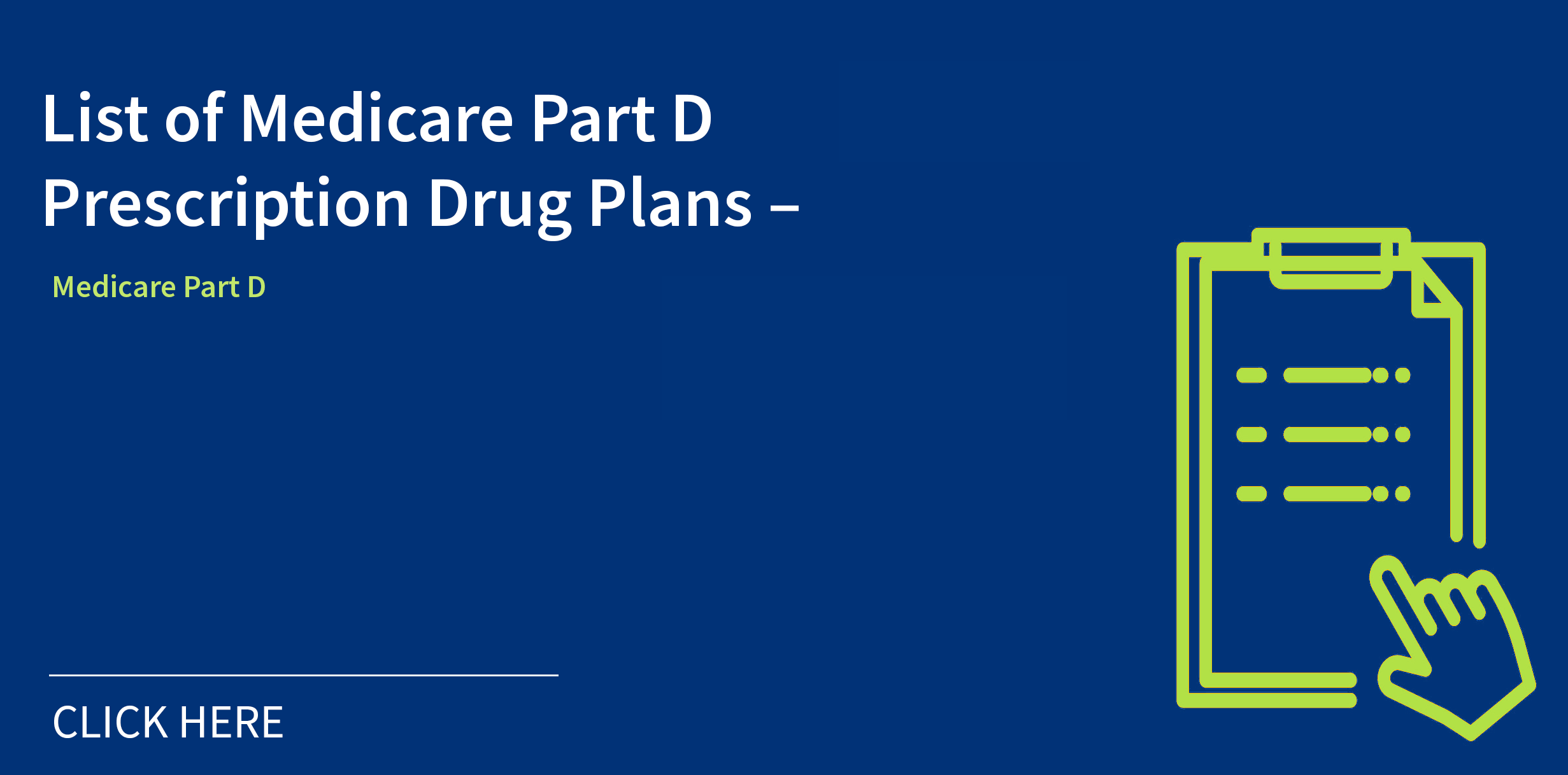 Medicare Part D Plan Graphic